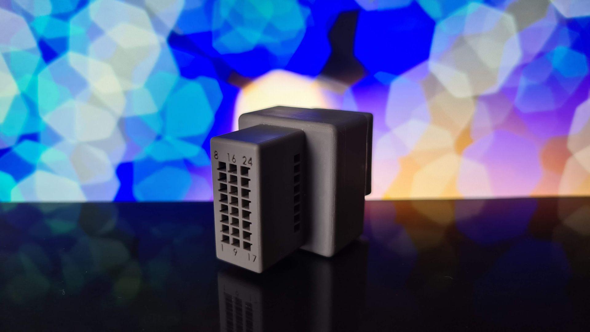 Steckerverbindung aus dem 3D-Drucker